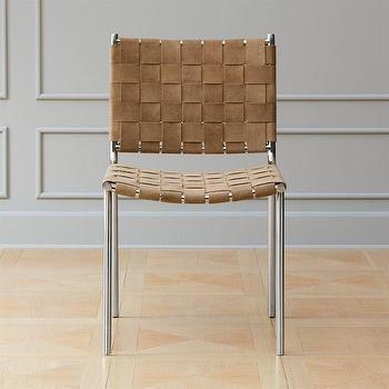 Aretha High Back Silver Chair