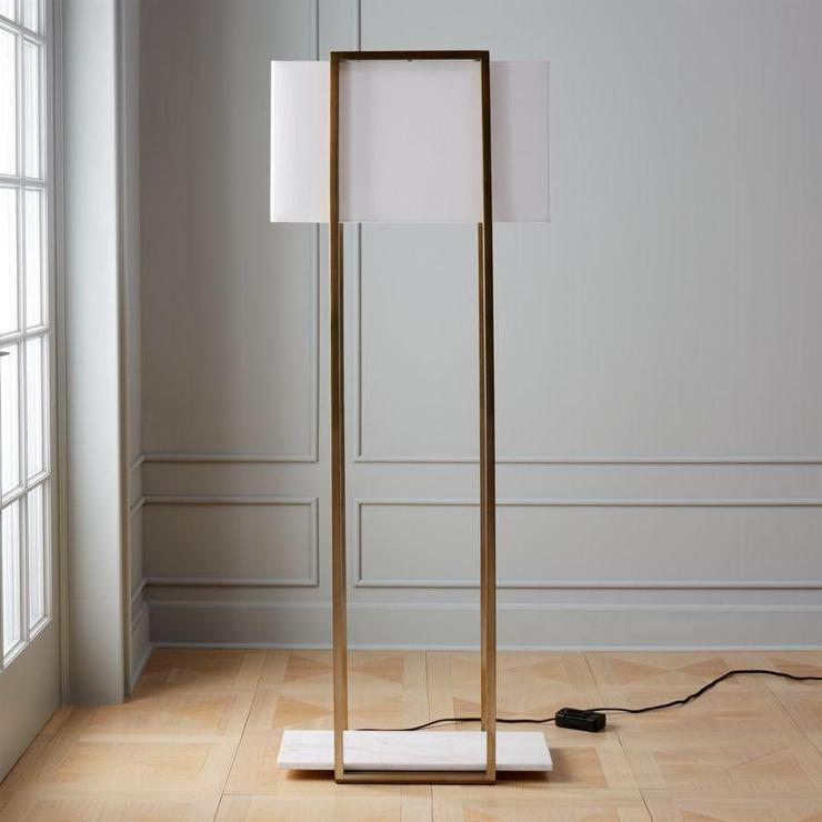 Arteriors Home Brass Keegan Floor Lamp