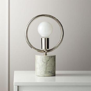 Nola Silver Table Lamp Bases