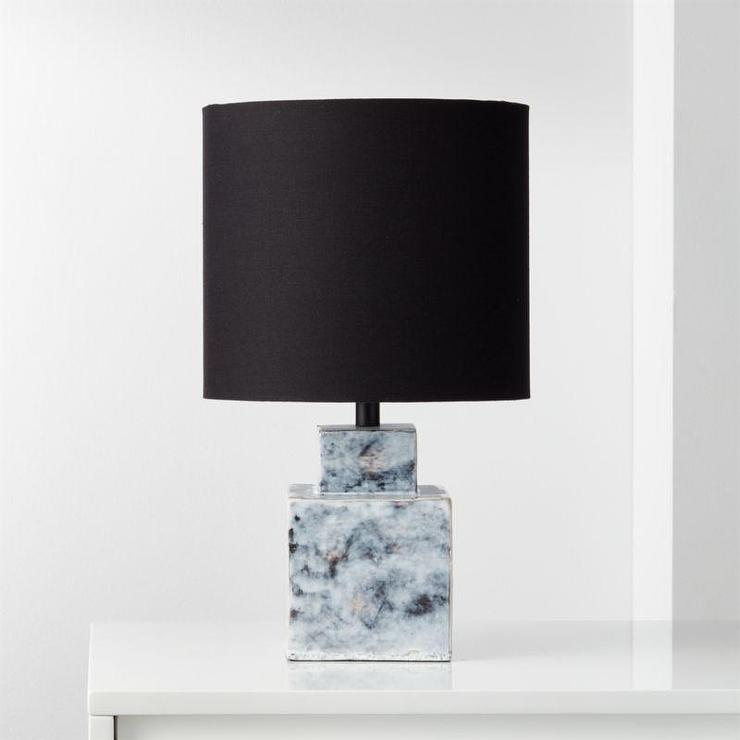 Black And White Tree Table Lamp