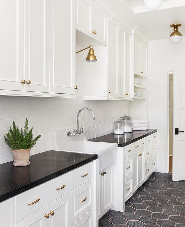 floor and decor grout.htm black hexagon laundry room floor tiles with beige grout  black hexagon laundry room floor tiles