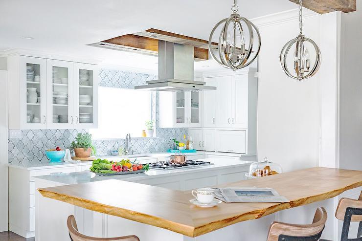 Live Edge Kitchen Island Design Ideas