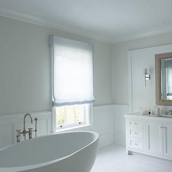 Light Gray Bathroom Walls Design Ideas