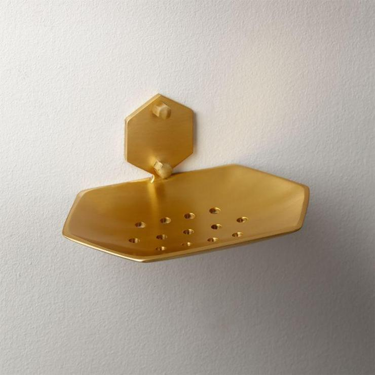Brass Wall Mounted Soap Holder
