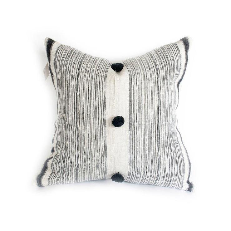 Sahara Ikat Hemp Pillow Cover