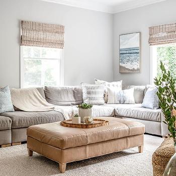 Light Beige Living Room Walls Design Ideas