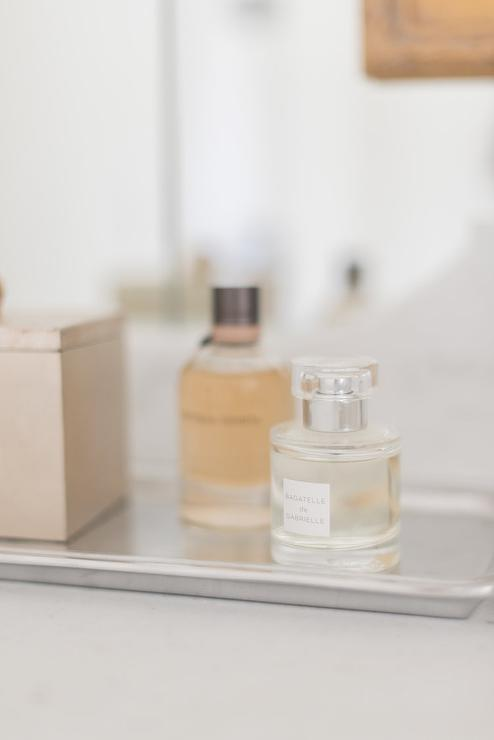 bathroom vanity tray decor.htm washstand with silver perfume tray transitional bathroom  washstand with silver perfume tray