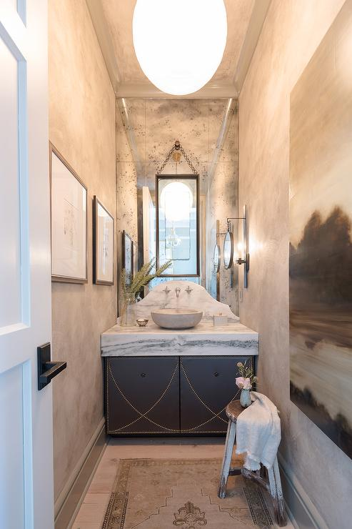 His And Her Sinks Contemporary Bathroom Justine Hugh