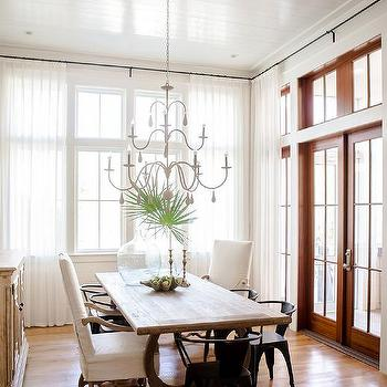 Dining Room French Doors Design Ideas