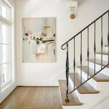 White Staircase Spindles Design Ideas