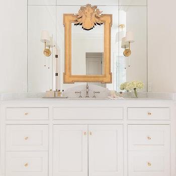 Metropolitan Mirror With Shelf Pottery Barn