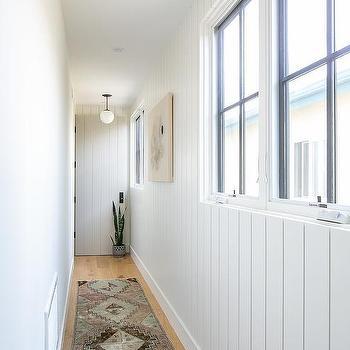 Shiplap Hallway Design Ideas