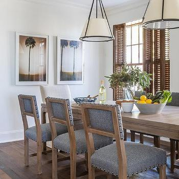 Palm Tree Dining Room Art Design Ideas
