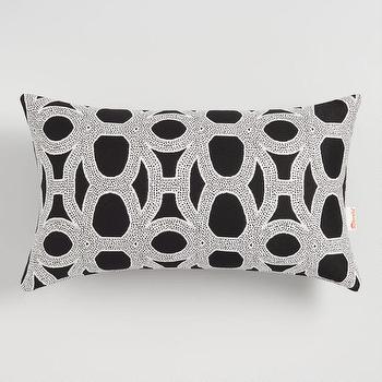 Jewel Lumbar Pillow Cover Pottery Barn