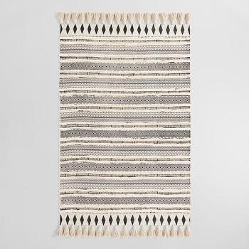 Handmade Moroccan Dark Grey Wool Rug 4 X 6 Overstock Com