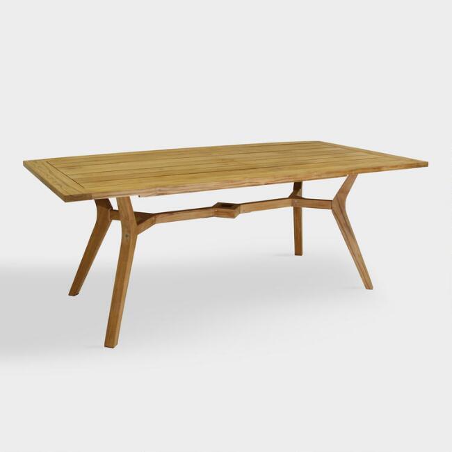 Amherst Teak Tan Console Table