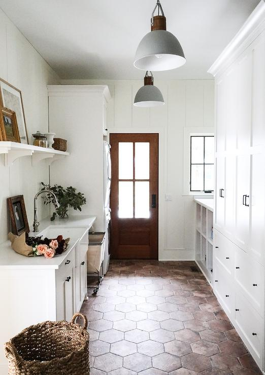 Combination Mudroom Laundry Room Design Ideas