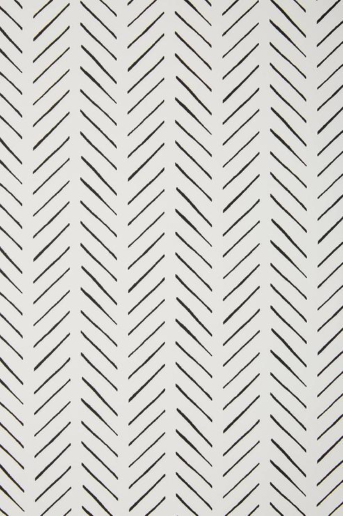 Pick Up Sticks Geometric Black White Wallpaper