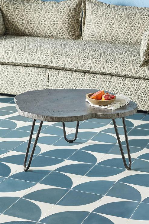 Fine Portofino Gray Concrete Hairpin Coffee Table Uwap Interior Chair Design Uwaporg