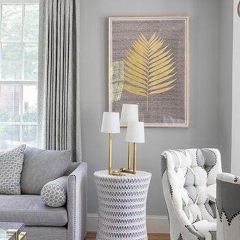 Sensational Gray Walls White Sofa Design Ideas Gamerscity Chair Design For Home Gamerscityorg