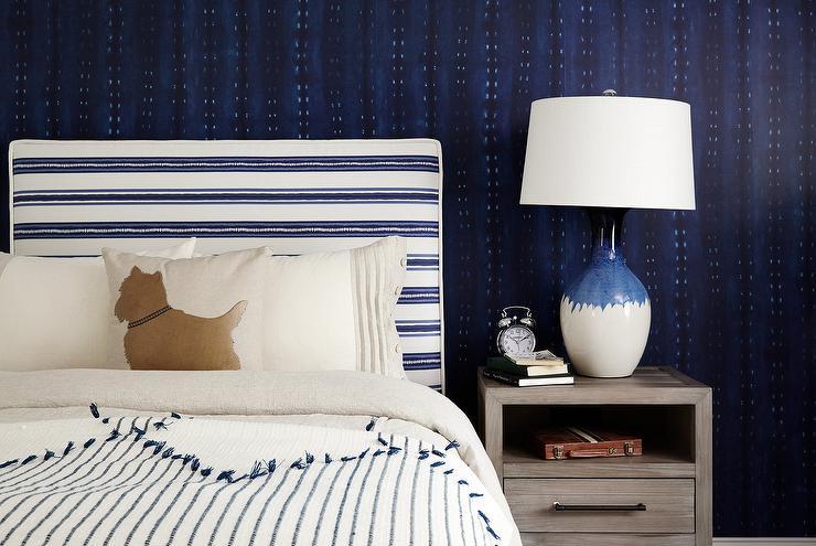 Blue Striped Boy S Room Cottage Bedroom Tammy Connor