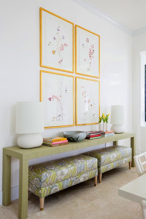 Dining Room Buffet Tables Design Ideas