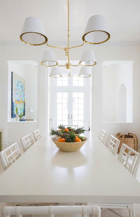 Gold Linear Chandelier, What Size Linear Chandelier For Dining Room