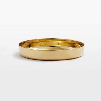 Kasbah Brass Round Trays