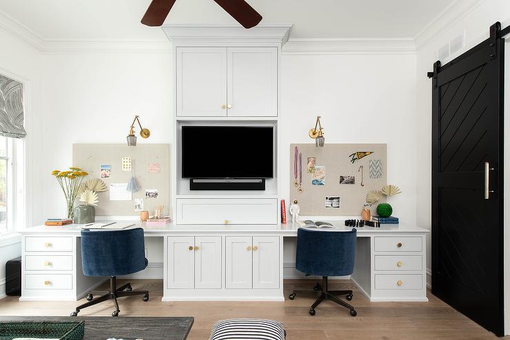 Dual Desks Design Ideas
