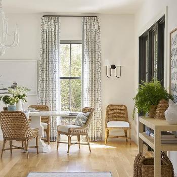 Large Dining Room Window Design Ideas