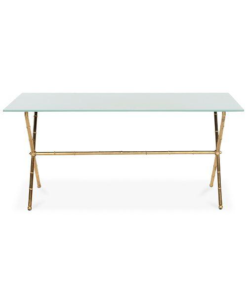 Mitchell Place Faux Bamboo Coffee Table