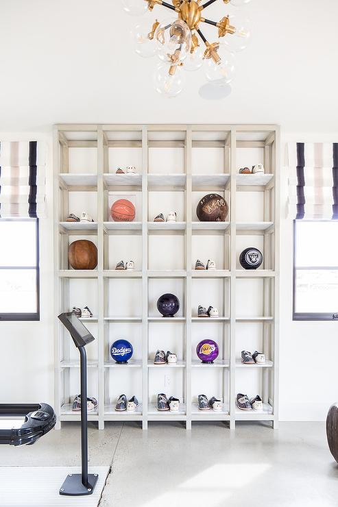 Pleasant Home Gym Display Shelves Design Ideas Download Free Architecture Designs Rallybritishbridgeorg