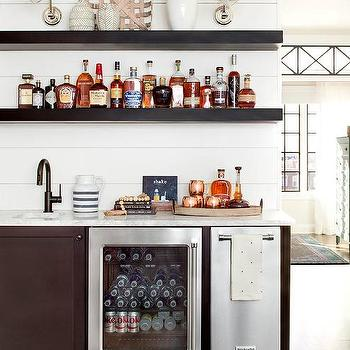 Shiplap Wet Bar Design Ideas