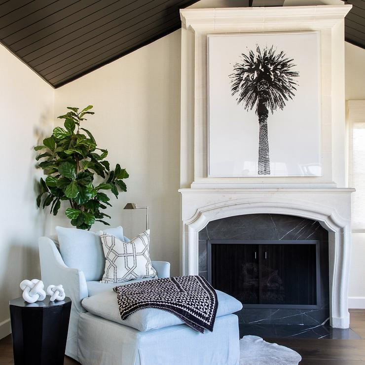 Super Cast Limestone Fireplace With Honed Black Marble Surround Caraccident5 Cool Chair Designs And Ideas Caraccident5Info