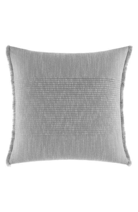 Fieldcrest Luxury Oblong Decorative Pillow Gray I Target