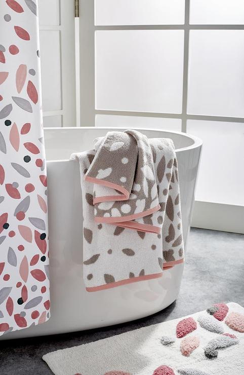 Dkny Petals 5 Piece Bath Towels Set