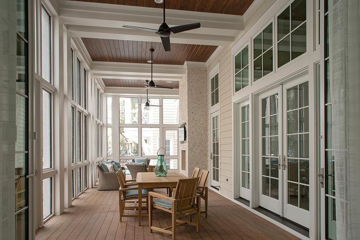 Enclosed Patio Design Ideas Design Ideas