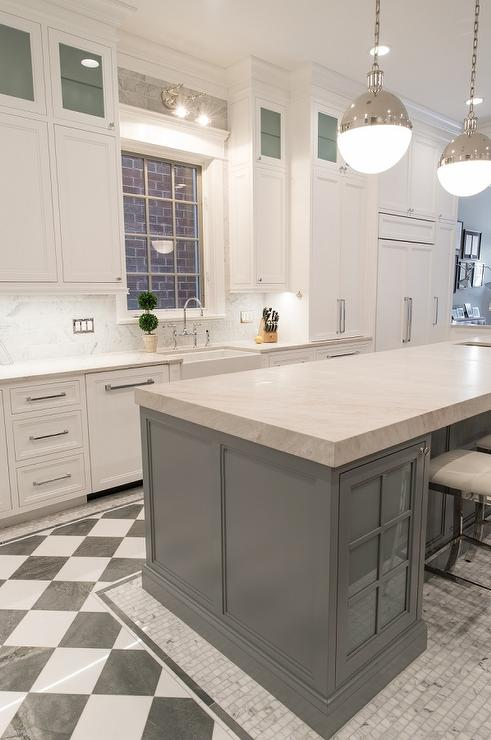 floor decor flooring checkered.htm gray kitchen with black and white checkered floors contemporary  white checkered floors