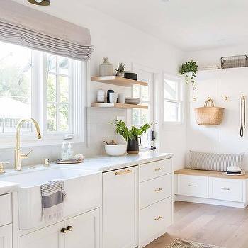 Mudroom Off Kitchen Design Ideas