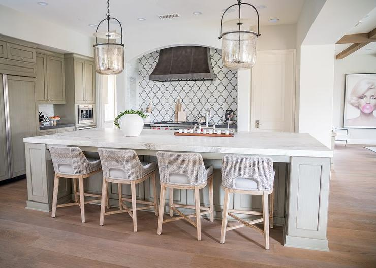 Miraculous Palecek Fritz Rope Counter Stools At Gray Island Pabps2019 Chair Design Images Pabps2019Com