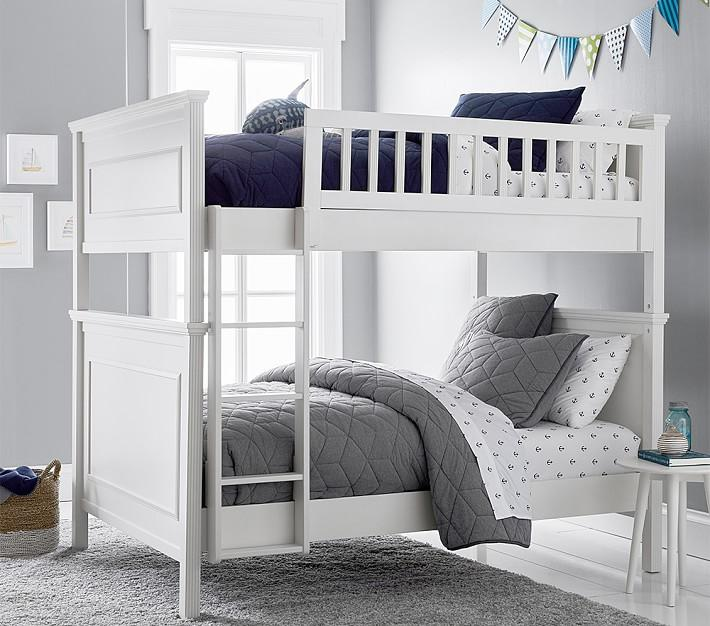Fillmore White Full Over Full Bunk Bed