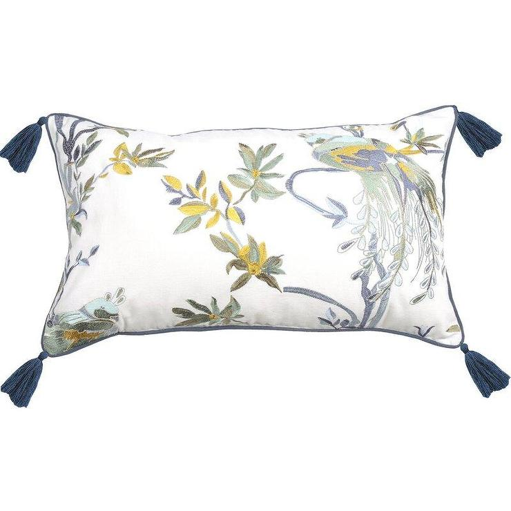 Jewel Lumbar Pillow Cover Pottery Barn