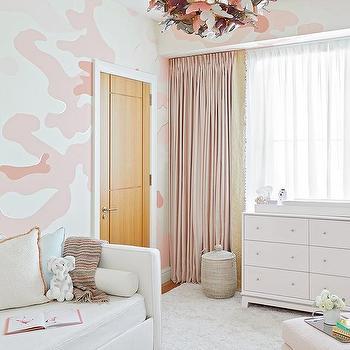White And Gray Nursery Contemporary Nursery Lay Baby Lay