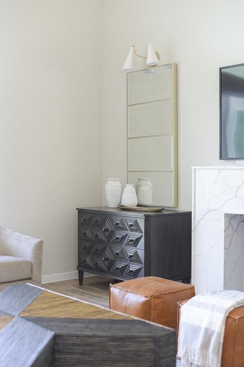 Dresser Next To Fireplace Design Ideas