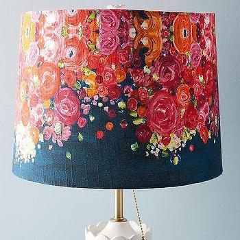 Gray Cotton Tufted Amal Lamp Shade