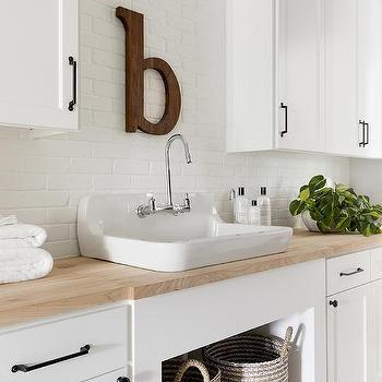 Painted Brick Backsplash Design Ideas