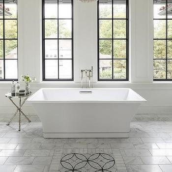 Black And White Mosaic Carpet Tiles Design Ideas