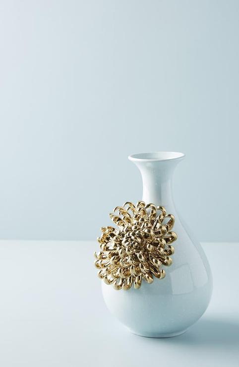 blue decorative vases.htm bloom gold flower blue ceramic vase  bloom gold flower blue ceramic vase
