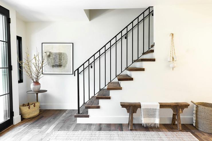 decorative wrought iron indoor stair railings buy.htm sleek modern wrought iron staircase transitional entrance foyer  sleek modern wrought iron staircase