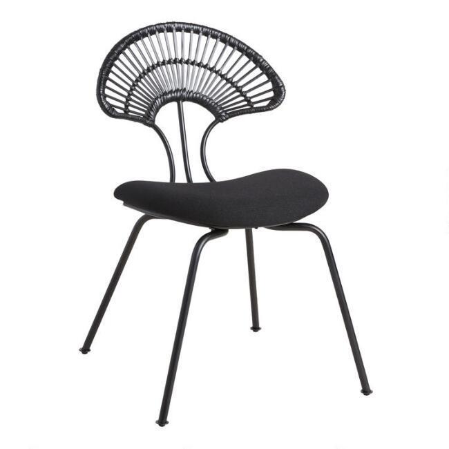 Remarkable Opalhouse Avocet Rattan Fan Back Accent Chair Lamtechconsult Wood Chair Design Ideas Lamtechconsultcom